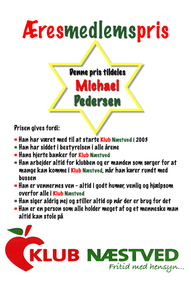 Æresmedlemspris_Michael