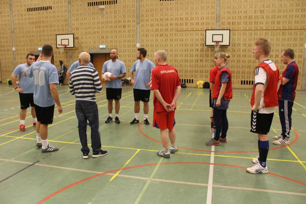 Fodboldkamp Klub Næstved vs Holmegaard Heldagsskole 1